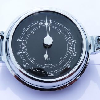 Chrome Barometer Low Profile