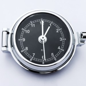 Chrome Clock Sailing