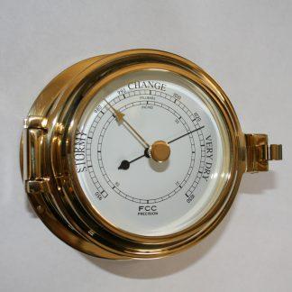 Brass Marine Barometer