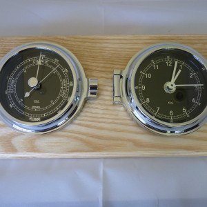 Clock & barometer set