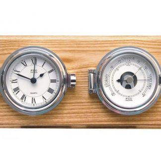 Clock and Barometer Set
