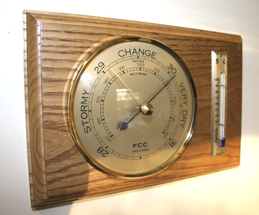 Indoor Barometer & Thermometer