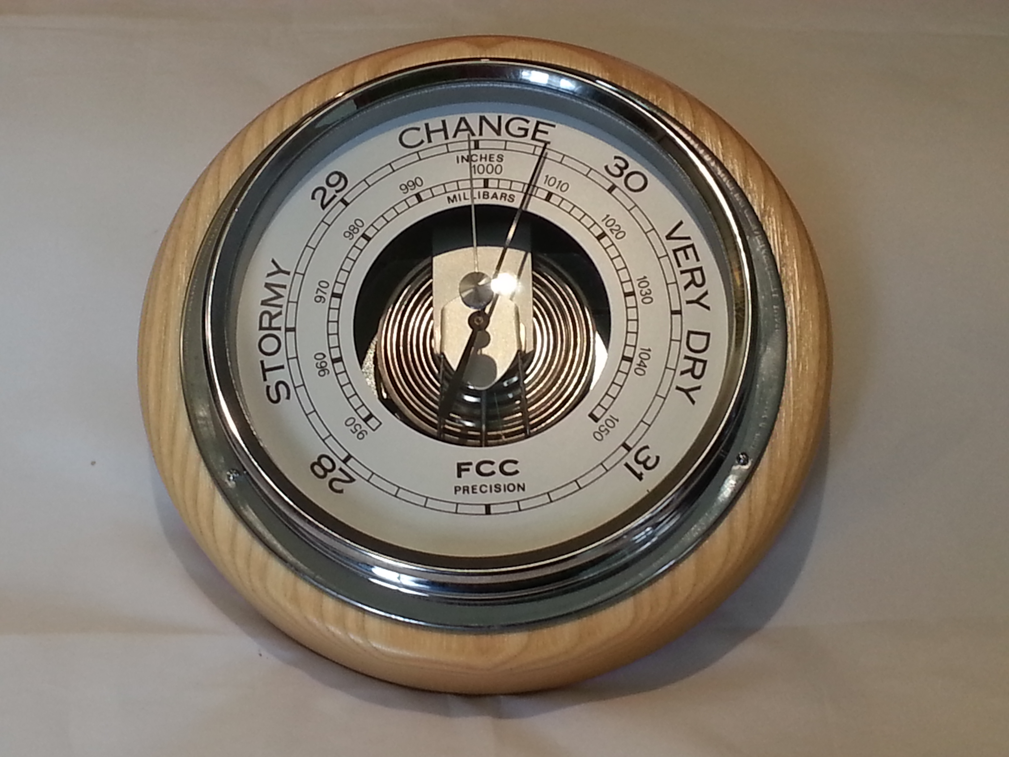 Wall Mounted Barometer Fcc Precision