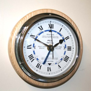 Wall mounted Time & Tide clock
