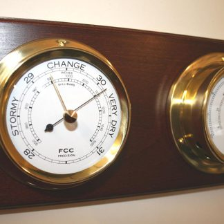 Indoor Weather Centre Brass