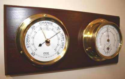 Indoor Weather Centre Brass