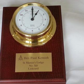 Presentation clock
