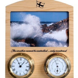 Cornish ash/brassIndoor weather station