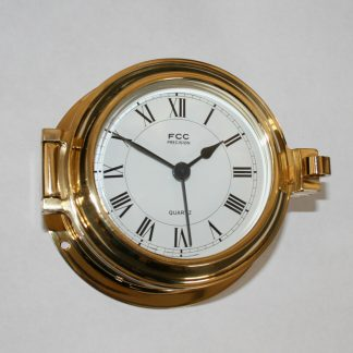 brass radio controlled clock