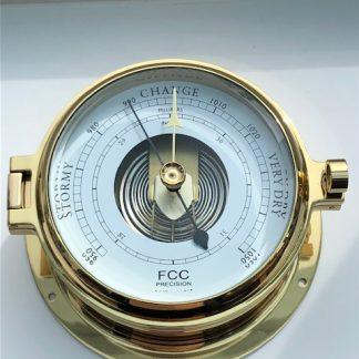 160mm cast brass marine Barometer