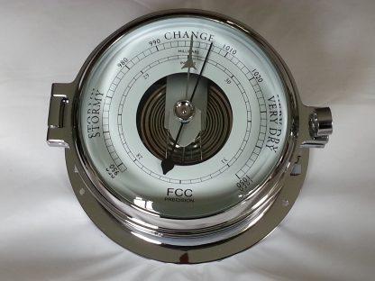 chrome marine barometer for boat or home