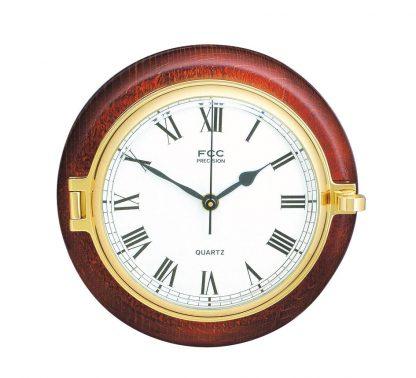 Wood mounted Prestige Clock