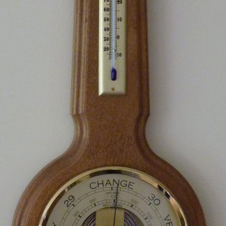 Banjo Barometer 580mm Light oak finish
