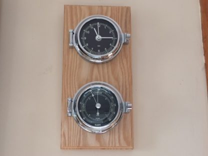 Clock & barometer set PRESTIGE