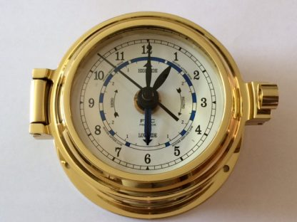 Brass tide Clock