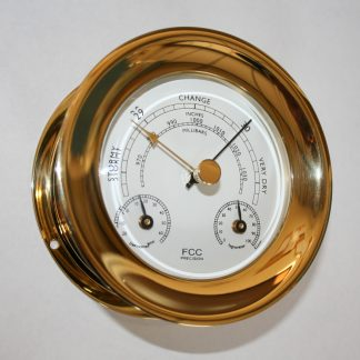 Brass Barometer Thermometer Hygrometer