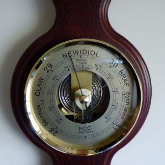 Welsh language banjo barometer