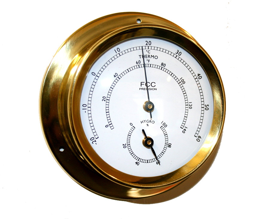 Hygrometer/thermometer