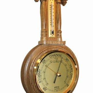 Antique style barometer