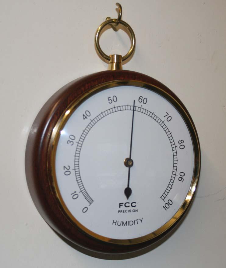 Small pocket watch style Hygrometer