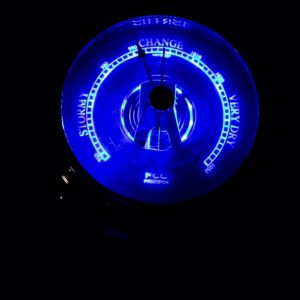 Back-Lit Barometer designed for night sailing