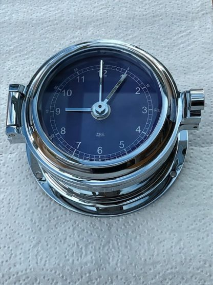 Chrome Clock Prestige Marine